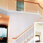 Quality custom interiors staircase